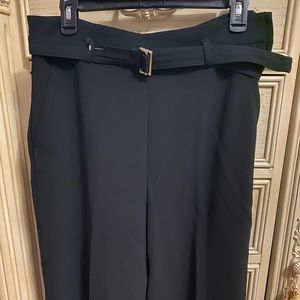 H&M Wide Leg Belted Trouser